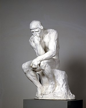 Skulpturensammlung - Auguste Rodin, The Thinker
