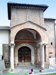 Rome, Trastevere Chiesa di San Cosimato 2