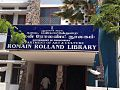 Roman Rolland Library,Puducherry (union territory),India.jpg