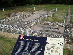 Rockbourne - Rockbourne Roman Villa