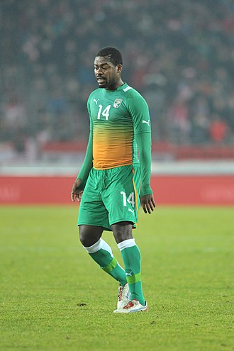 Romaric (footballer) - Romaric playing for Ivory Coast in 2012