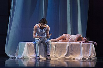 Romeo and Juliet (Prokofiev) - A 2014 Krzysztof Pastor's production at the Polish National Ballet, dancers: Vladimir Yaroshenko and Maria Żuk