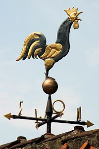 http://upload.wikimedia.org/wikipedia/commons/thumb/b/b7/Rooster_Weather_Vane.jpg/200px-Rooster_Weather_Vane.jpg