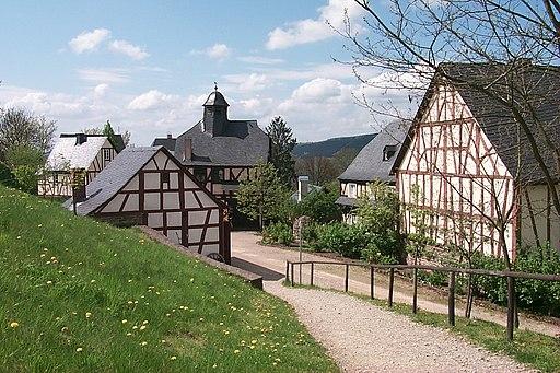 Volkskunde- und Freilichtmuseum Roscheider Hof. Hunsrueckdorf