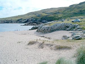 Rosguill - The beach at Dooey