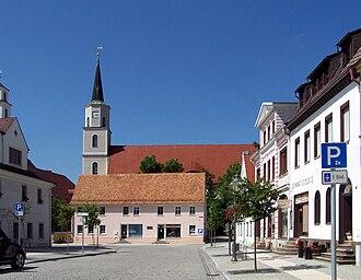 Rothenburg, Oberlausitz - Rothenburg Protestant church