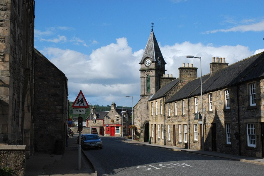 Rothes High Street