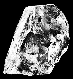 Cullinan Diamond - The rough diamond