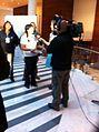 Roxana Miranda previo al debate ANP, octubre 2013.jpg