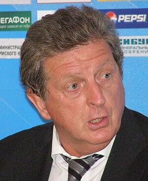 Roy Hodgson as a head coach of Fulham F.C.