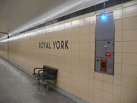 Image illustrative de l'article Royal York (métro de Toronto)