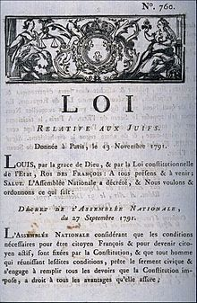 History of the Jews in France   Wikipedia Wikipedia