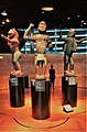 Royal statues of Abomey in Quai Branly museum May 2021.jpg