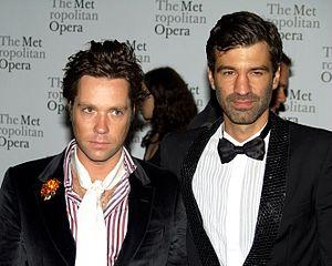 Rufus Wainwright - Wainwright and his husband, German arts administrator Jörn Weisbrodt, in 2010.