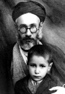 Ruhollah Khatami and Mohmmad Khatami in chidlhood.jpg