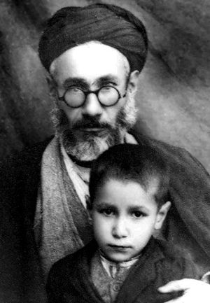 Mohammad Khatami - Ruhollah Khatami (father) and Mohammad in childhood.