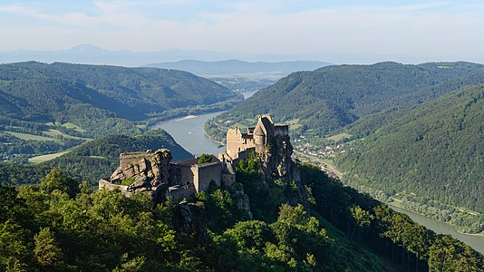 Castle ruins of Aggstein, Wachau, Lower Austria