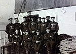 Rushen Castle Officers and Deck Crew, 1928..JPG