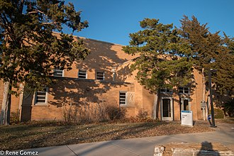 National Register of Historic Places listings in Potter County, Texas - Image: Russell Hall (1 of 1)
