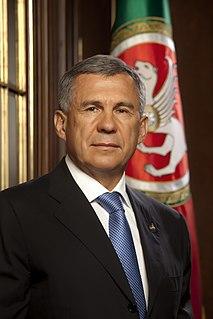 Rustam Minnikhanov Russian politician