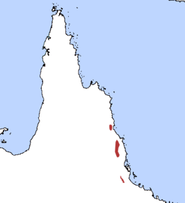 Verspreiding in Queensland