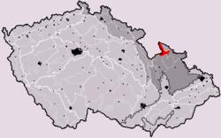 Rychlebské hory v rámci Česka