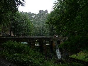 Amselsee - Image: Sächsische Schweiz Amselsee (01)