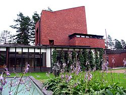 Säynätsalo Town Hall by architect Alvar Aalto