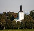 Södervidinge kyrka–flygbild 06 september 2014.jpg