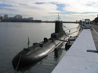 Type 209 submarine - Argentine submarine ARA Salta (S-31)