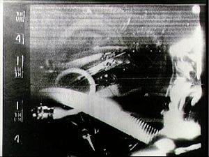 Gordon Cooper - Cooper in an SSTV broadcast from Faith 7