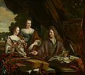 SA 41518-David (1654-1729), Agneta (ca. 1658-1719) en hun dochter Catherina (1683-1729) de Neufville.jpg