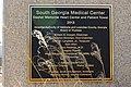 SGMC Dasher Memorial Heart Center plaque.JPG