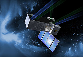 Space Interferometry Mission - Artist's concept of the SIM Lite Astrometric Observatory in space