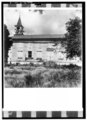 SOUTH ELEVATION - Moravian Church, Friedensfeld, St. Croix, VI HABS VI,1-FRIE,1-2.tif