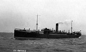 SS Orteric (1910) - Image: SS Orteric postcard circa 1911