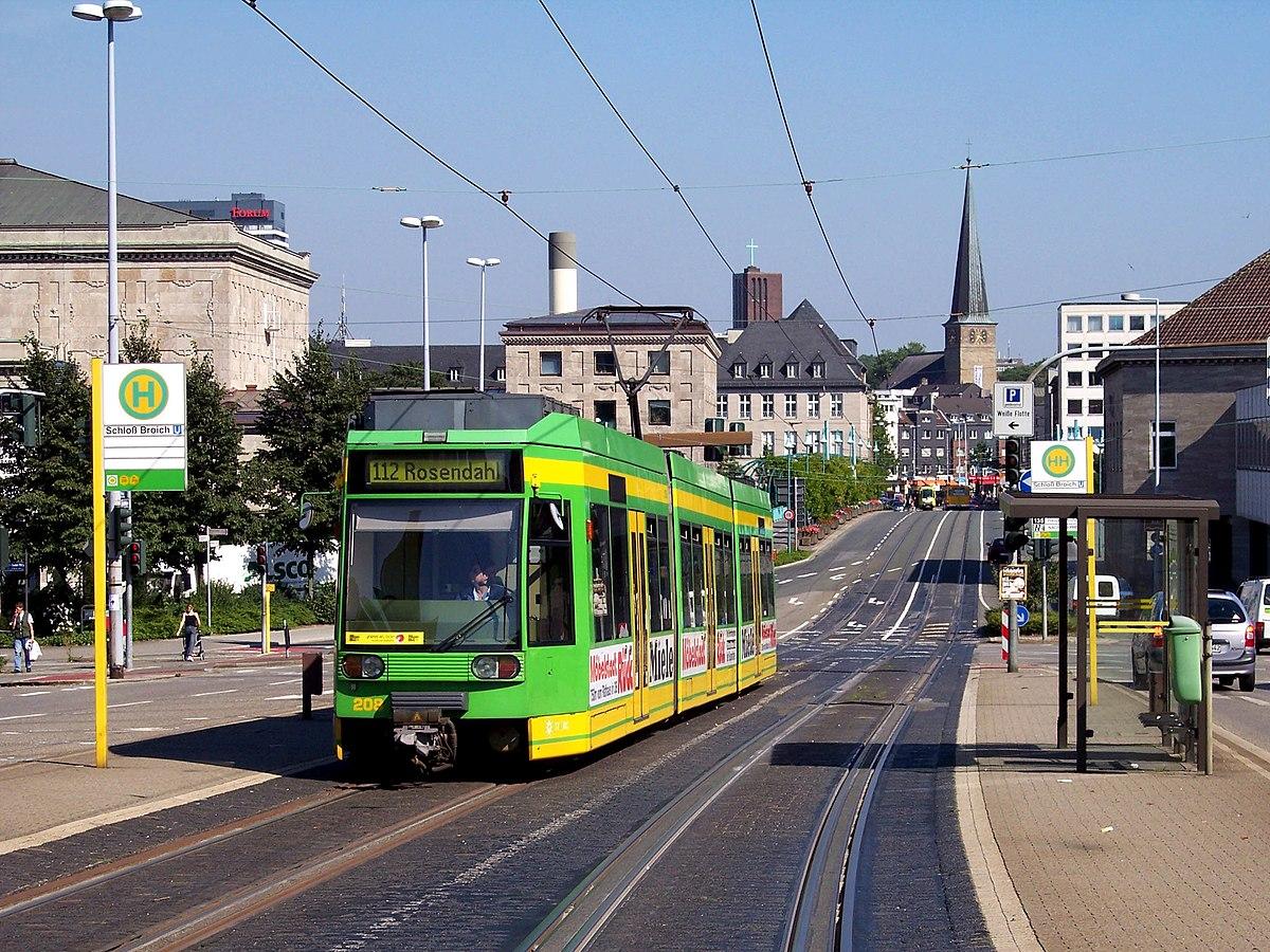 Trams In M Lheim Oberhausen Wikipedia