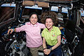 STS-133 ISS-26 Nicole Stott and Cady Coleman.jpg