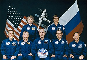 STS-79 - Image: STS 79 crew