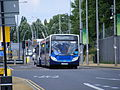 SV57 BYU Stagecoach Bluebird 27538, Inverurie Connect Paralympic games vehicle. (7864985294).jpg