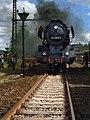 Saechsisches Eisenbahnmuseum - gravitat-OFF - Schnellzug-Dampflokomotive 03 2204-0 front.jpg
