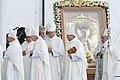 Saeimas priekšsēdētāja piedalās Viņa Svētības pāvesta Franciska vizītes pasākumos (44840973652) cropped.jpg