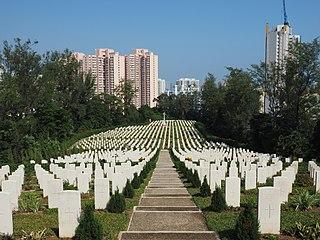Sai Wan War Cemetery Hong Kong