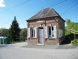 The town hall in Saint-Léger-sur-Bresle