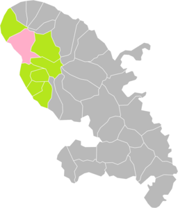 Saint-Pierre (Martinique) dans son Arrondissement