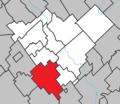 Saint-Victor Quebec location diagram.png