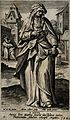 Saint Anne. Engraving by A. Collaert after M. de Vos. Wellcome V0031574.jpg