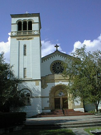 Saint Leo Abbey - Image: Saint Leo University Church