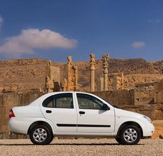 SAIPA - Image: Saipa tiba new car