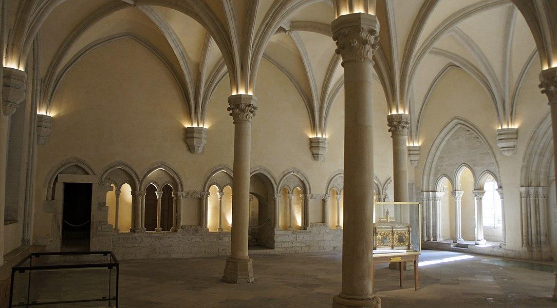 Salle capitulaire de l'abbaye st-Remi de Reims.